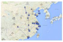 Velika Kineska Turneja 25.02.- 01.05.2014.